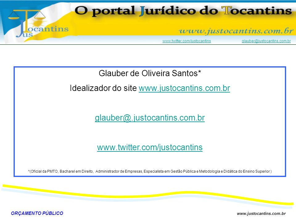 Glauber de Oliveira Santos*