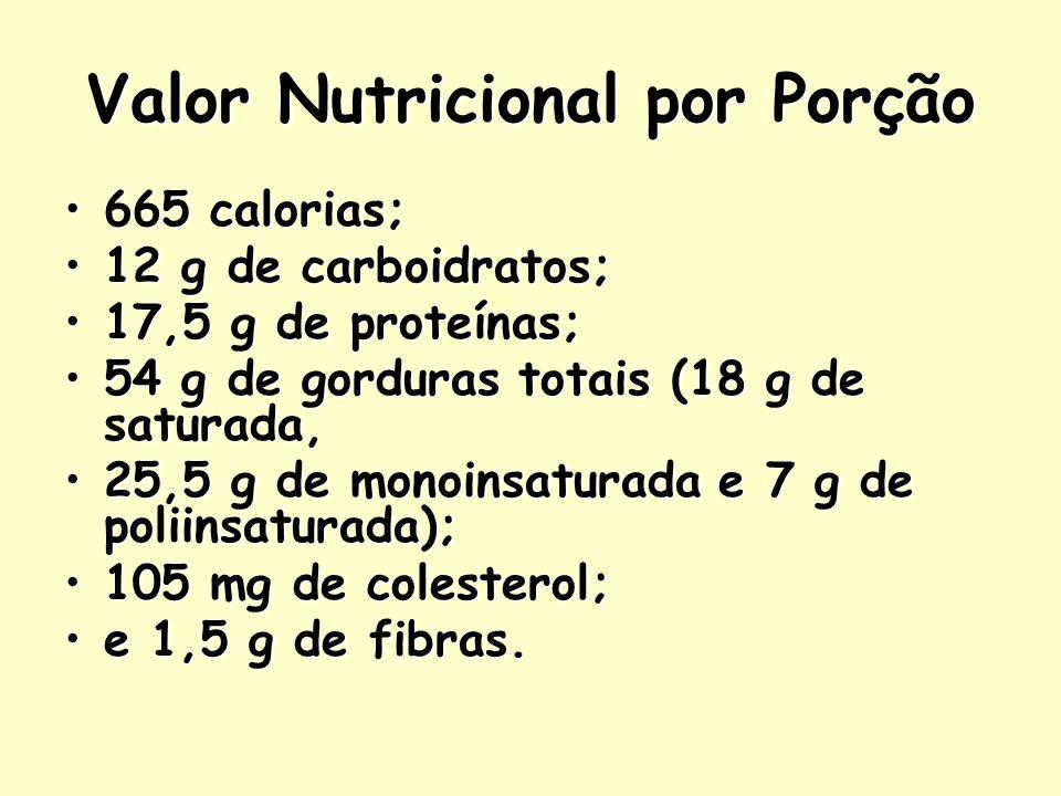 Valor Nutricional por Porção