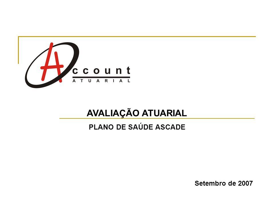 AVALIAÇÃO ATUARIAL PLANO DE SAÚDE ASCADE Setembro de 2007