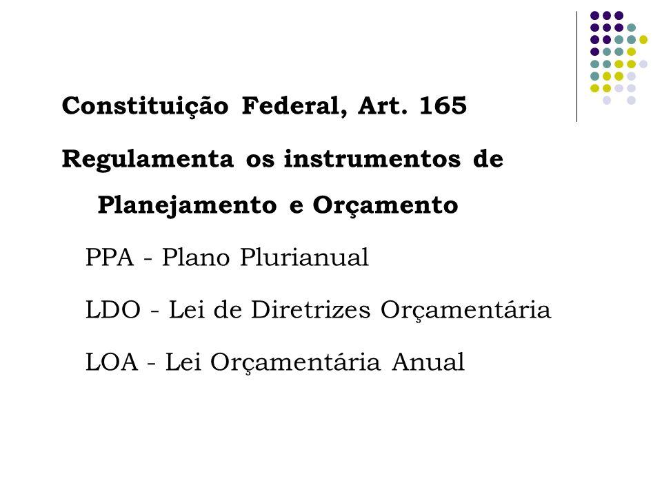 Constituição Federal, Art. 165