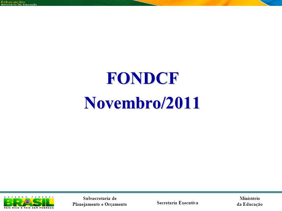 FONDCF Novembro/2011