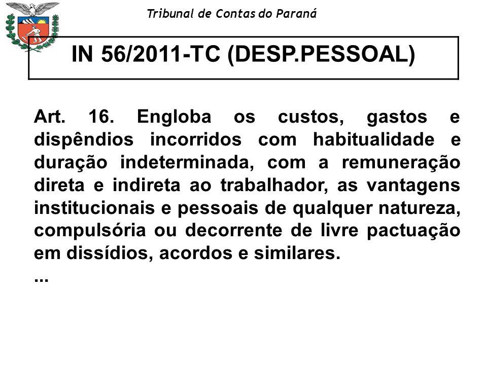 IN 56/2011-TC (DESP.PESSOAL)