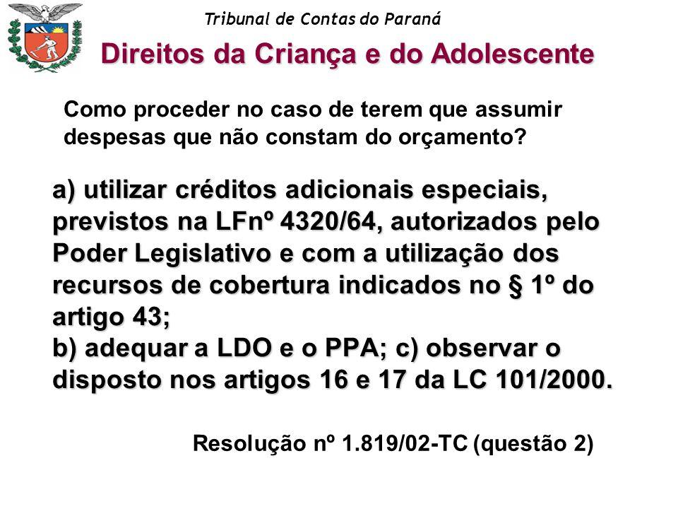 Resolução nº 1.819/02-TC (questão 2)