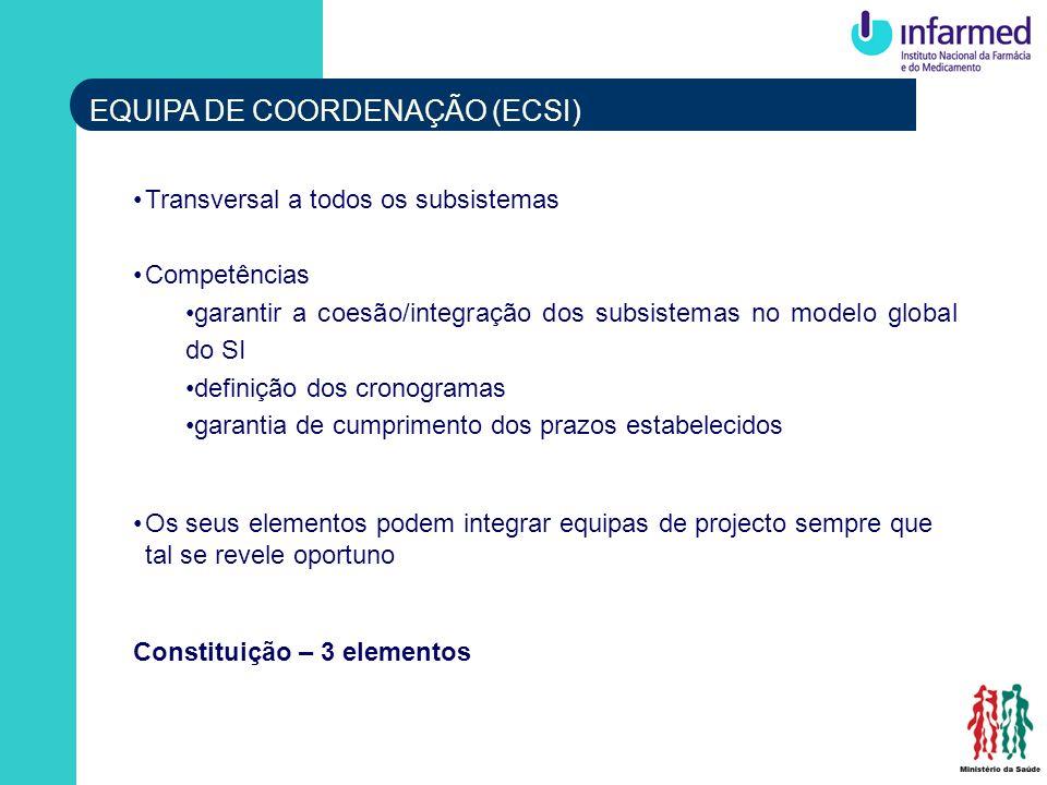 EQUIPA DE COORDENAÇÃO (ECSI)