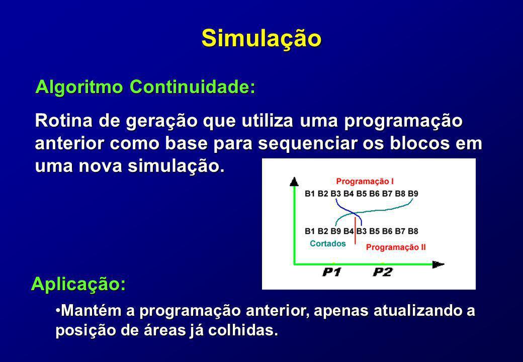 Simulação Algoritmo Continuidade:
