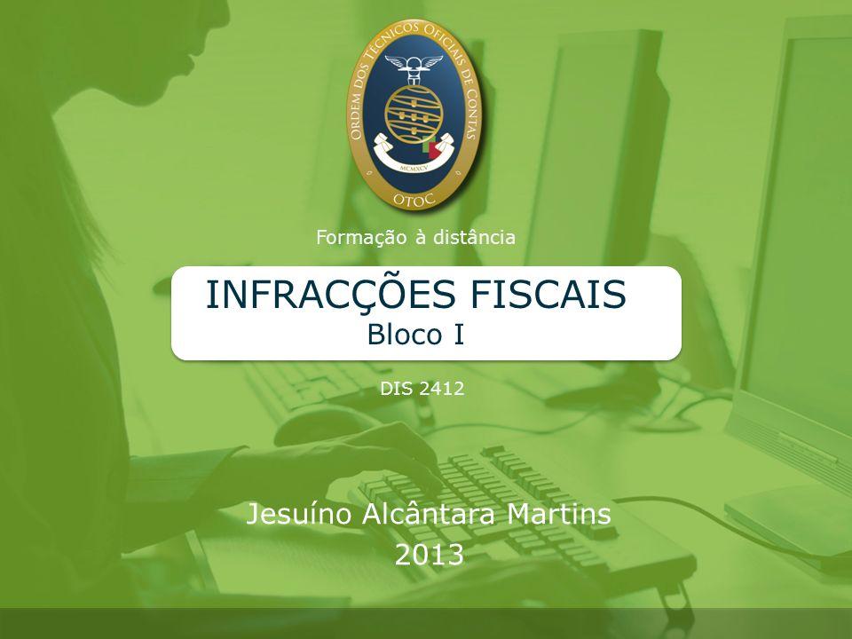INFRACÇÕES FISCAIS Bloco I