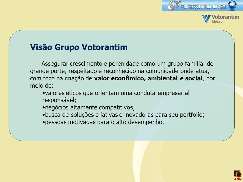 Visão Grupo Votorantim