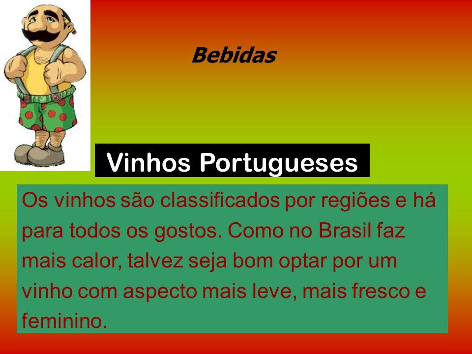 Vinhos Portugueses Bebidas