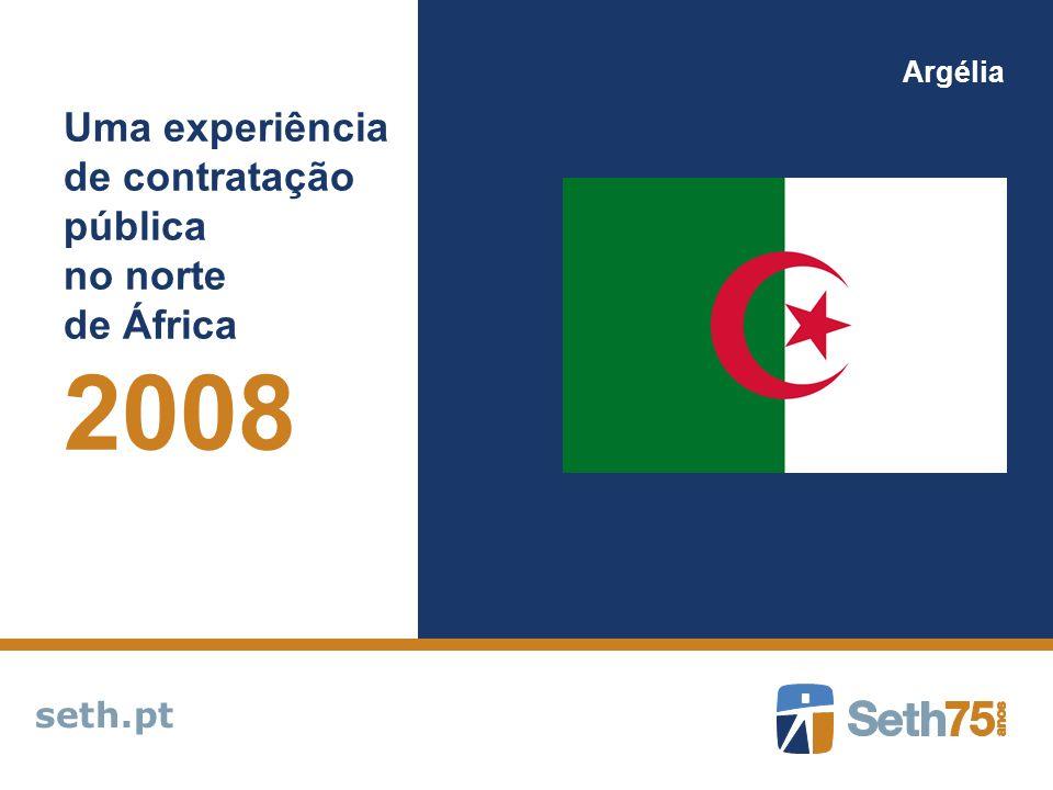 2008 Uma experiência de contratação pública no norte de África seth.pt