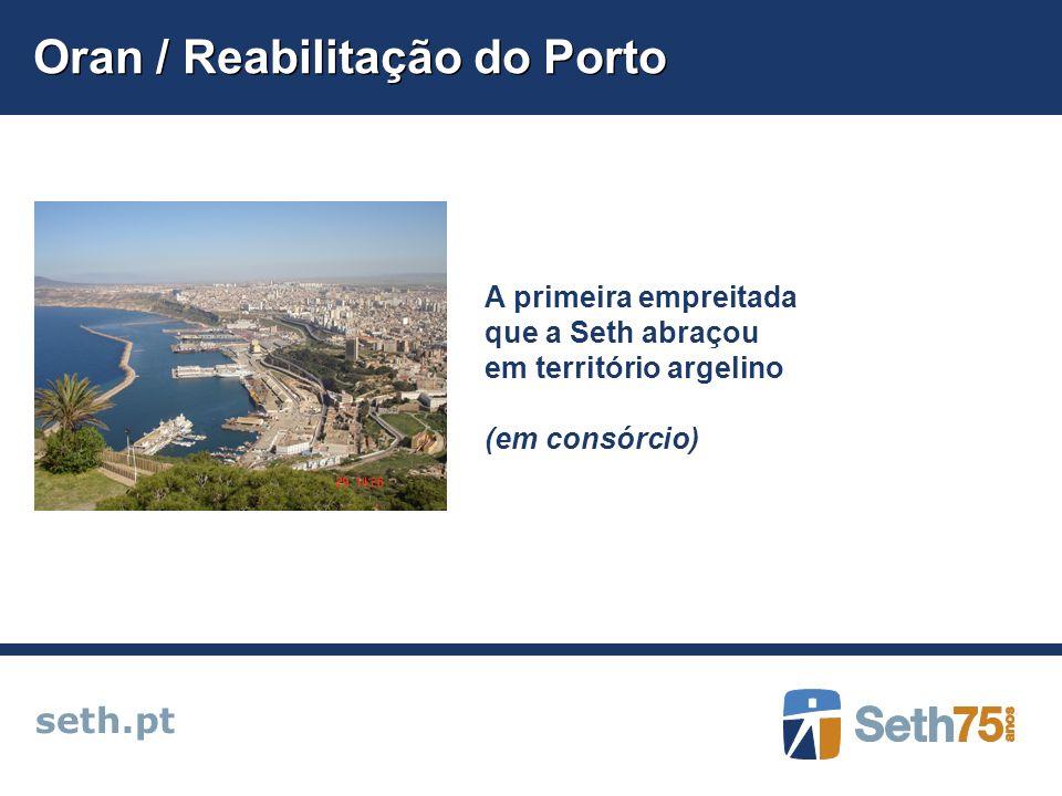Oran / Reabilitação do Porto