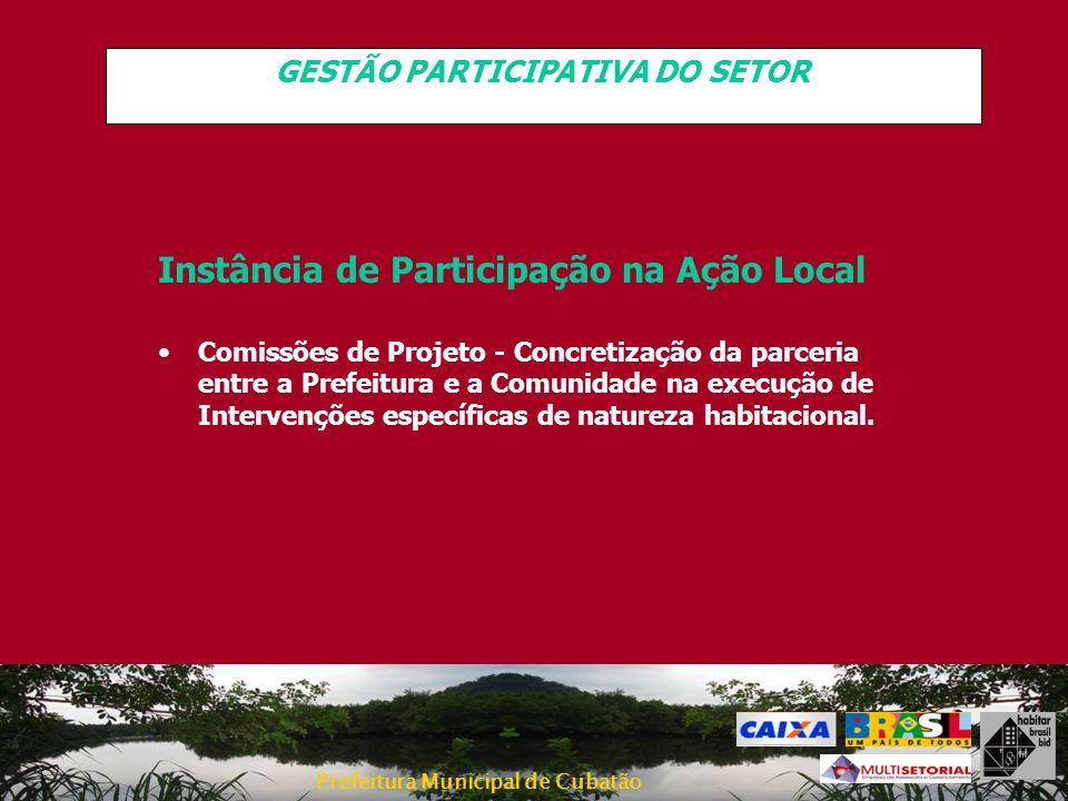 GESTÃO PARTICIPATIVA DO SETOR