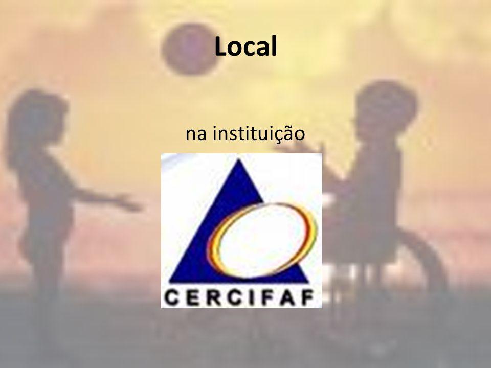 Local na instituição