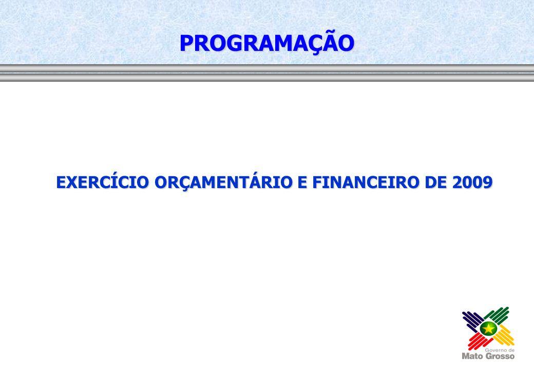 EXERCÍCIO ORÇAMENTÁRIO E FINANCEIRO DE 2009