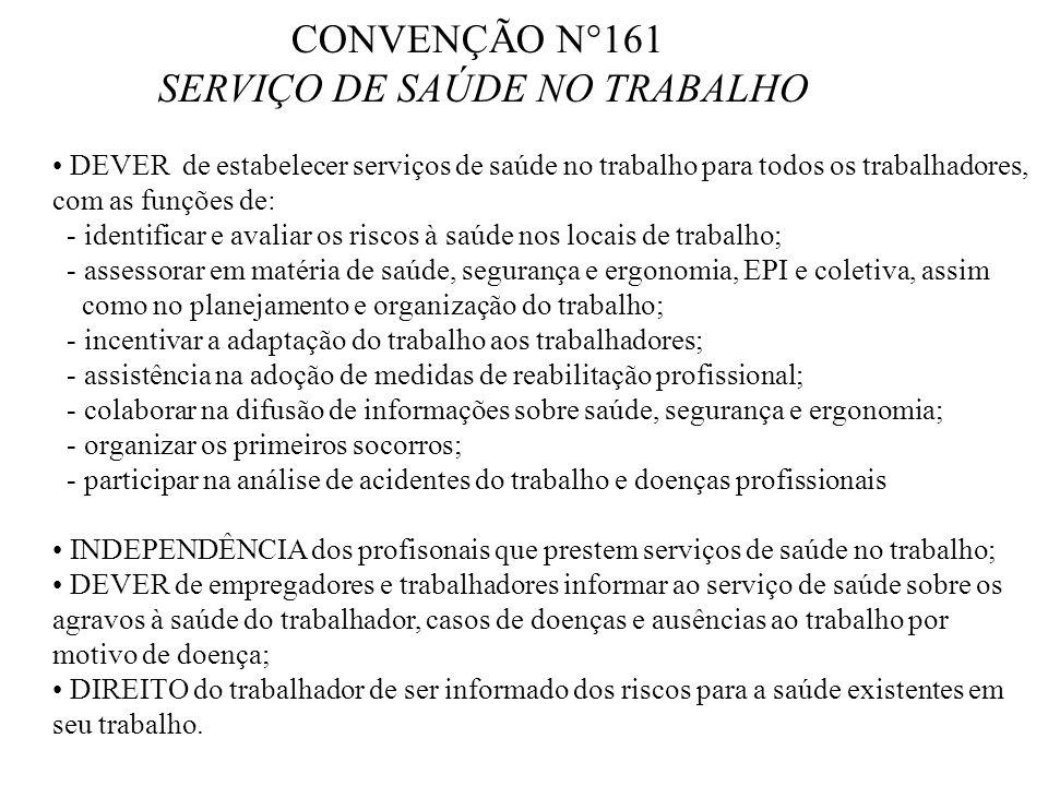 SERVIÇO DE SAÚDE NO TRABALHO