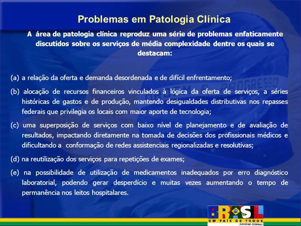 Problemas em Patologia Clínica