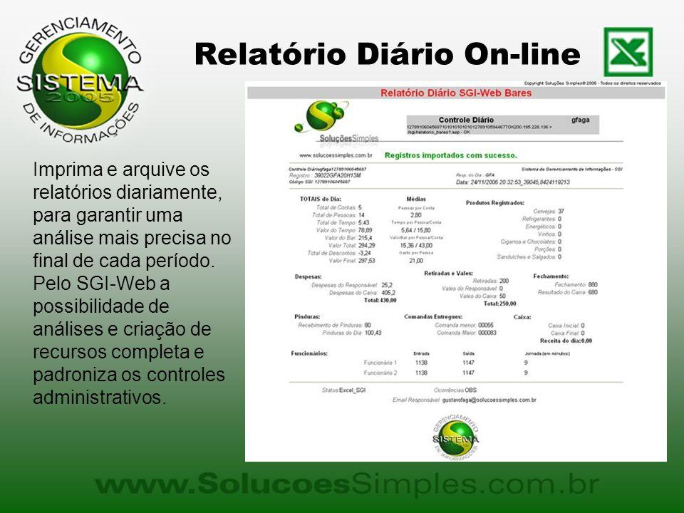 Relatório Diário On-line