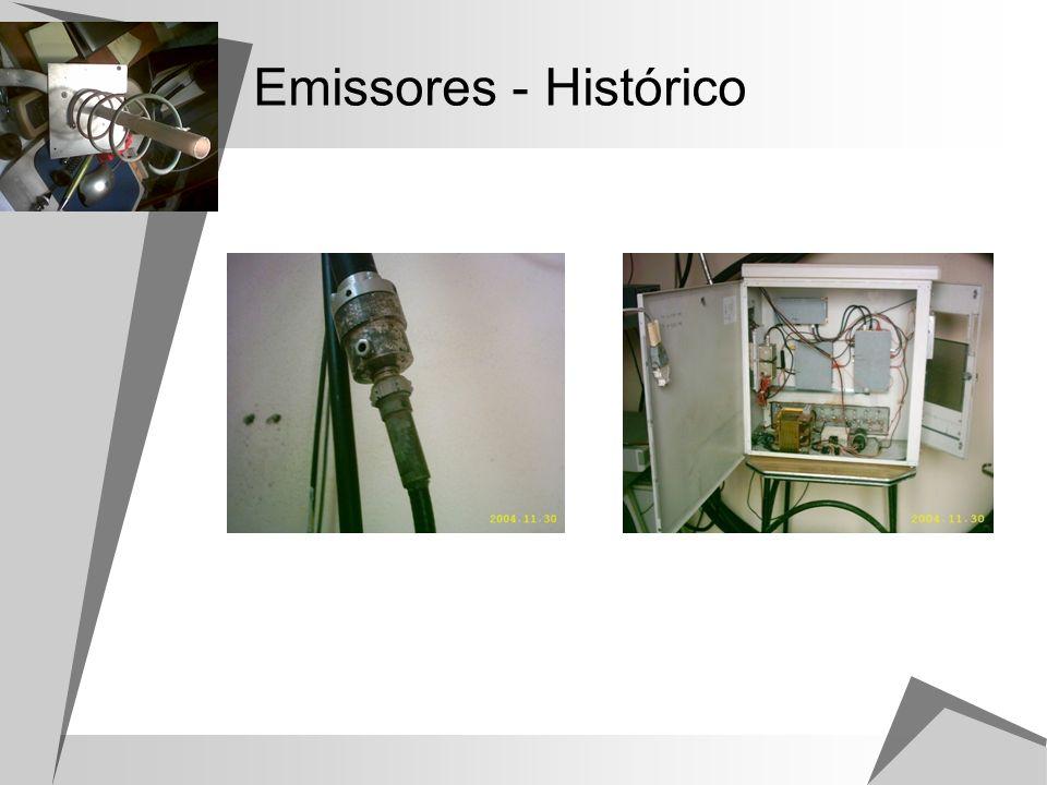 Emissores - Histórico