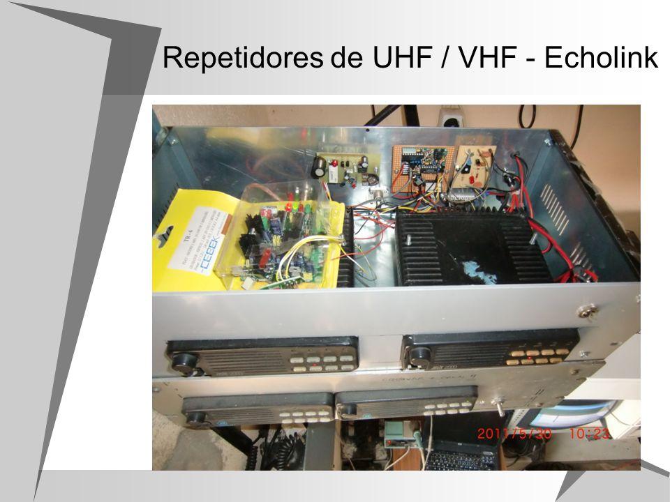 Repetidores de UHF / VHF - Echolink