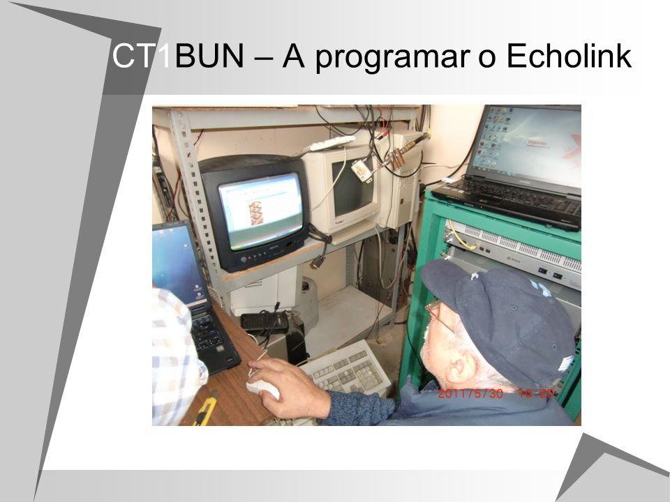 CT1BUN – A programar o Echolink