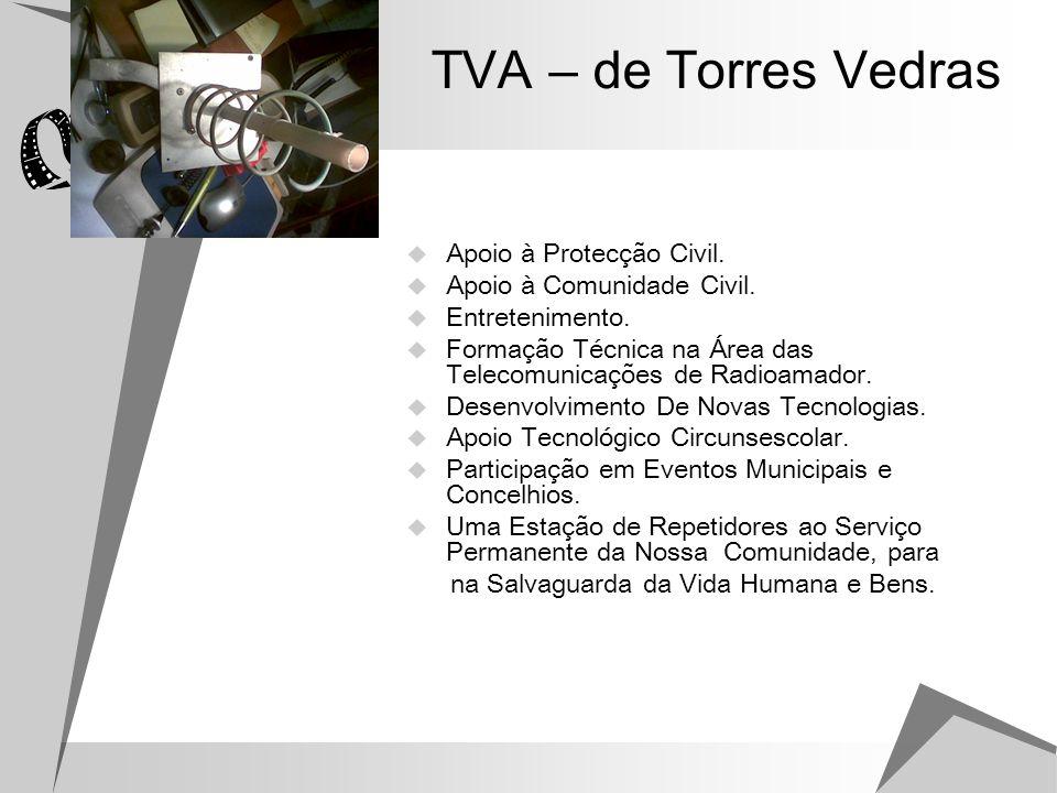 TVA – de Torres Vedras Apoio à Protecção Civil.