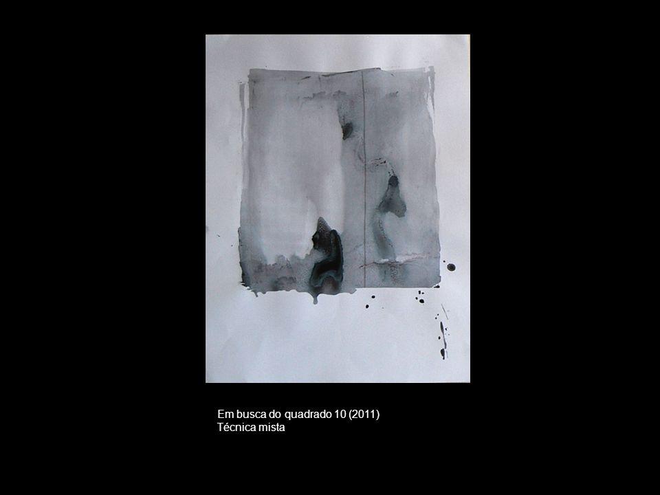 Em busca do quadrado 10 (2011) Técnica mista