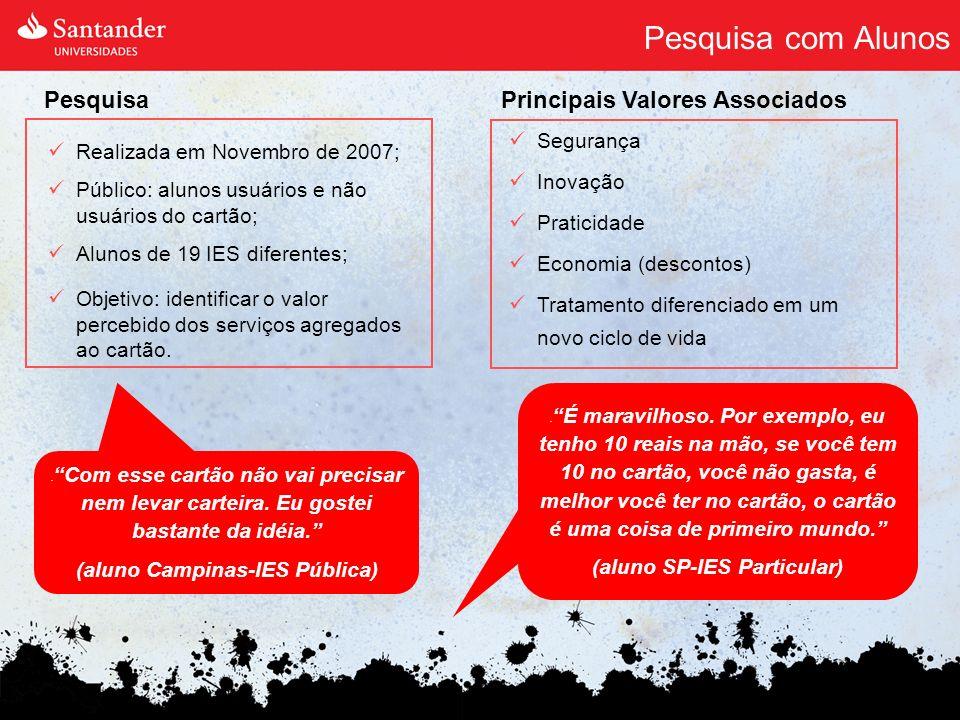 (aluno SP-IES Particular) (aluno Campinas-IES Pública)