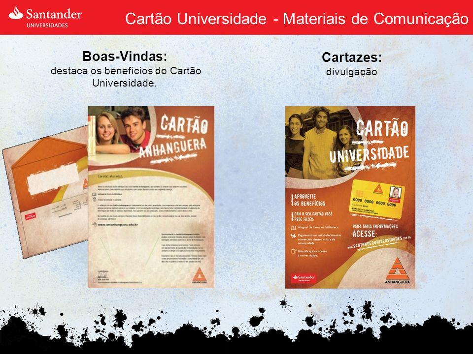 Cartão Universidade - Materiais de Comunicação