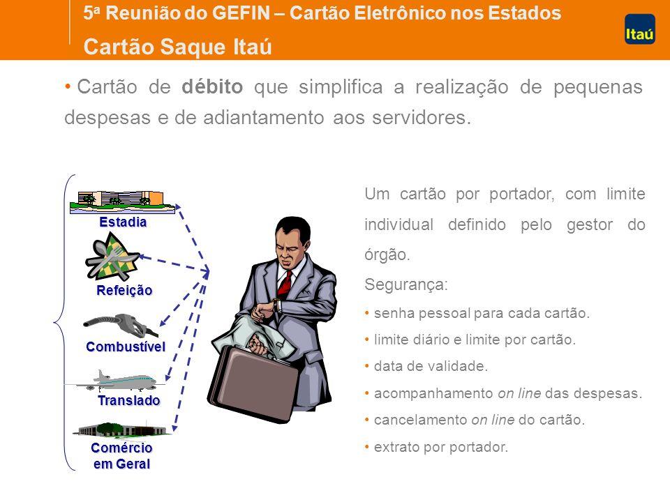 5a Reunião do GEFIN – Cartão Eletrônico nos Estados