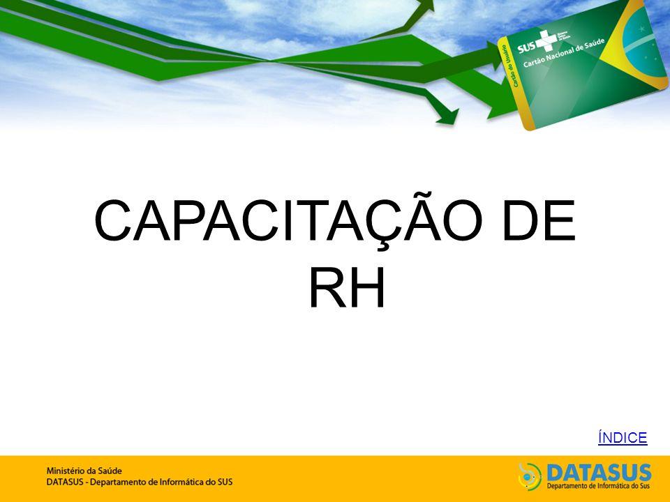 CAPACITAÇÃO DE RH ÍNDICE