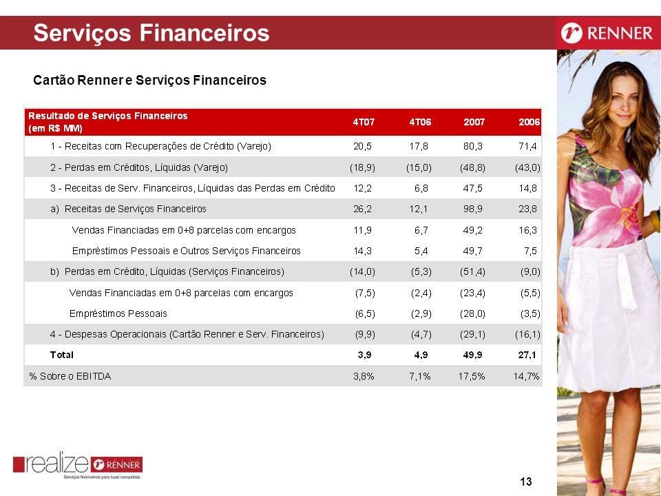 Serviços Financeiros Cartão Renner e Serviços Financeiros