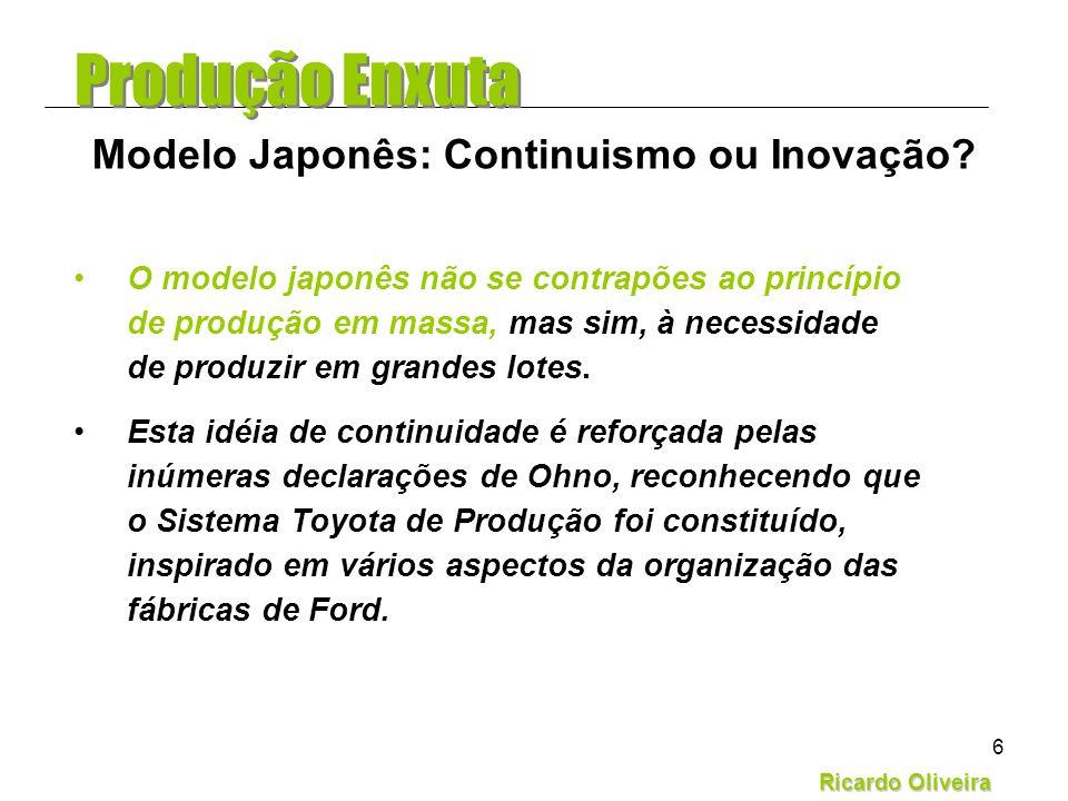 Modelo Japonês: Continuismo ou Inovação