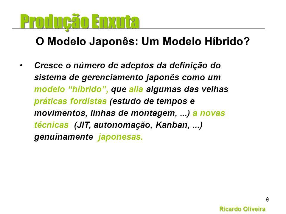 O Modelo Japonês: Um Modelo Híbrido