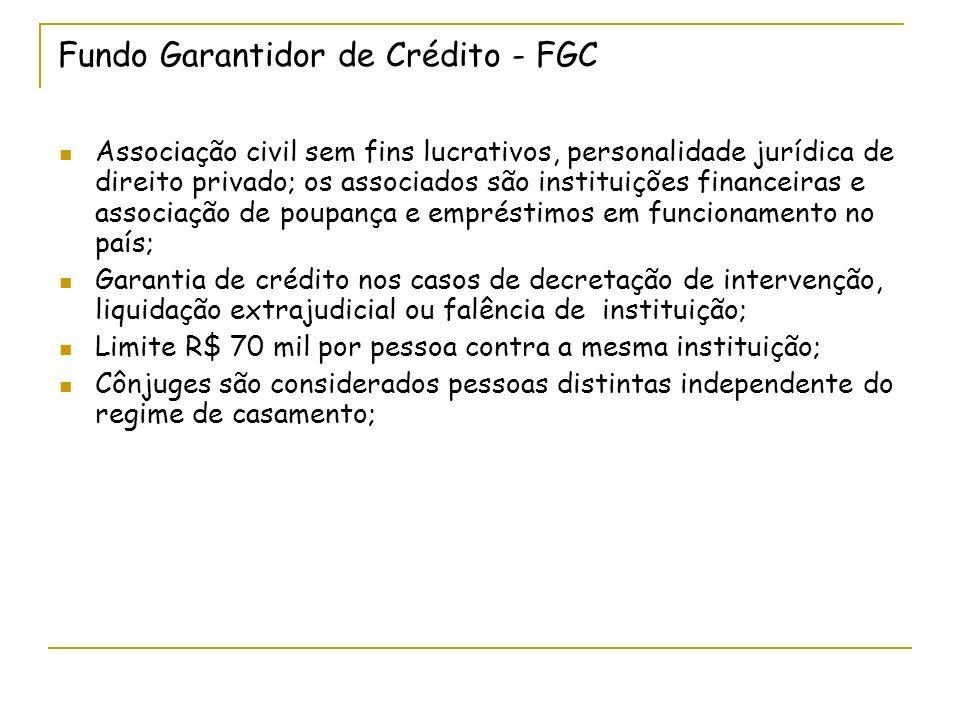 Fundo Garantidor de Crédito - FGC