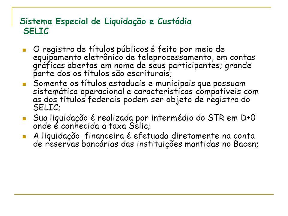 Sistema Especial de Liquidação e Custódia SELIC