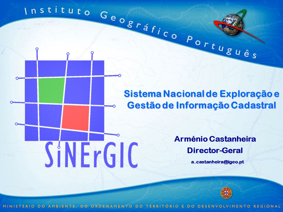 Sistema Nacional de Exploração e Gestão de Informação Cadastral