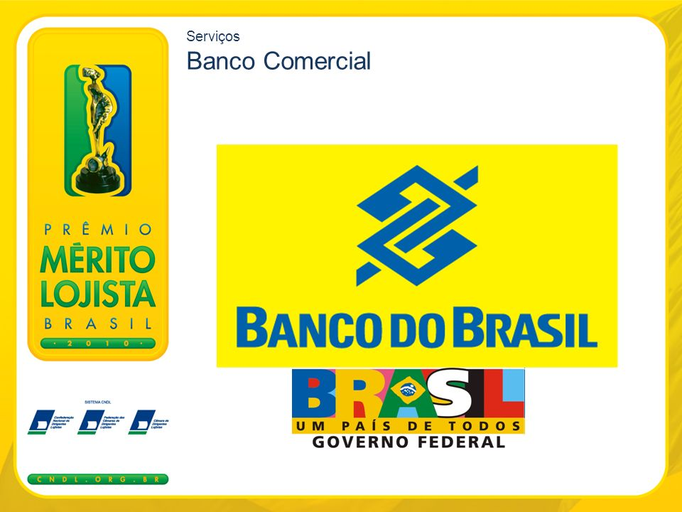 Serviços Banco Comercial