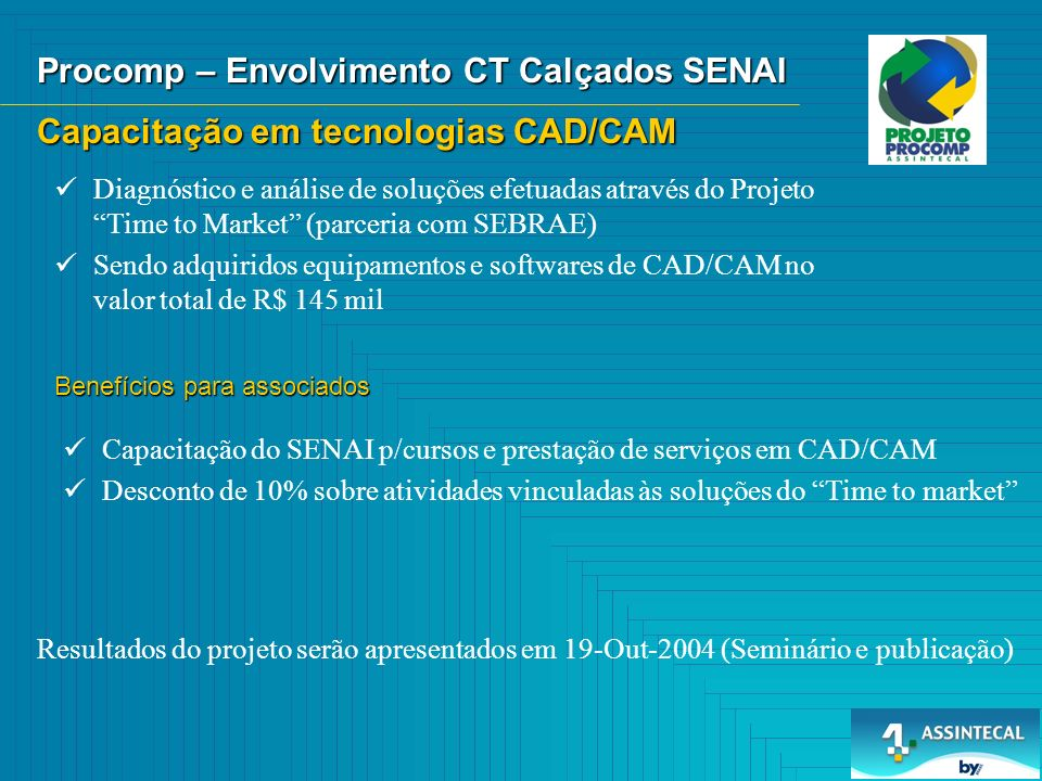 Procomp – Envolvimento CT Calçados SENAI