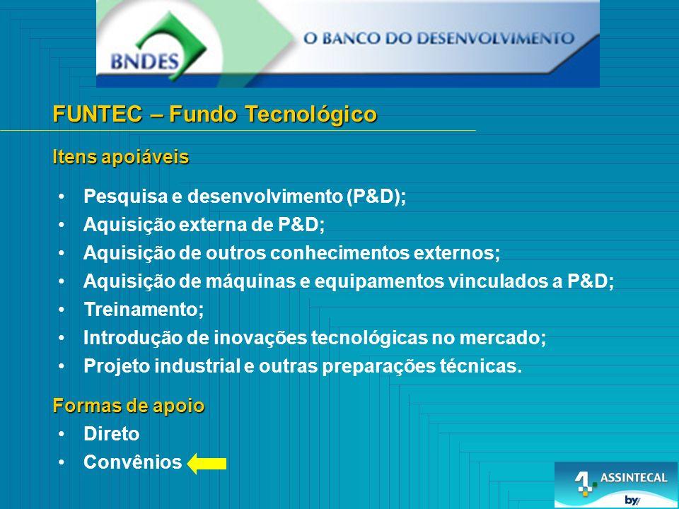 FUNTEC – Fundo Tecnológico