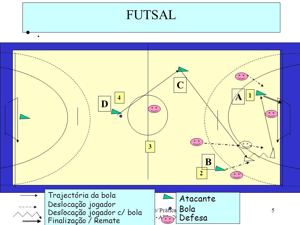 ESSM - 10ª Ano/ Prática de Actividades Físicas - AFL, 2008/09