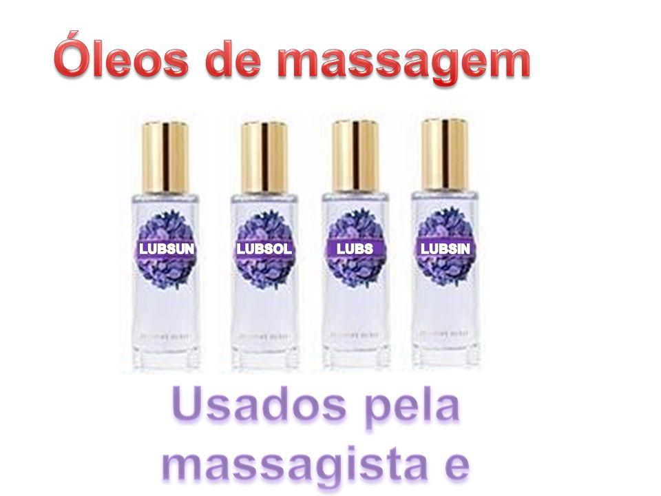 Usados pela massagista e vendidos na loja .