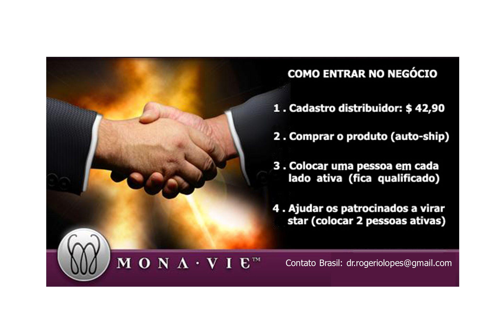 CARTÃO MONAVIE Contato Brasil: dr.rogeriolopes@gmail.com