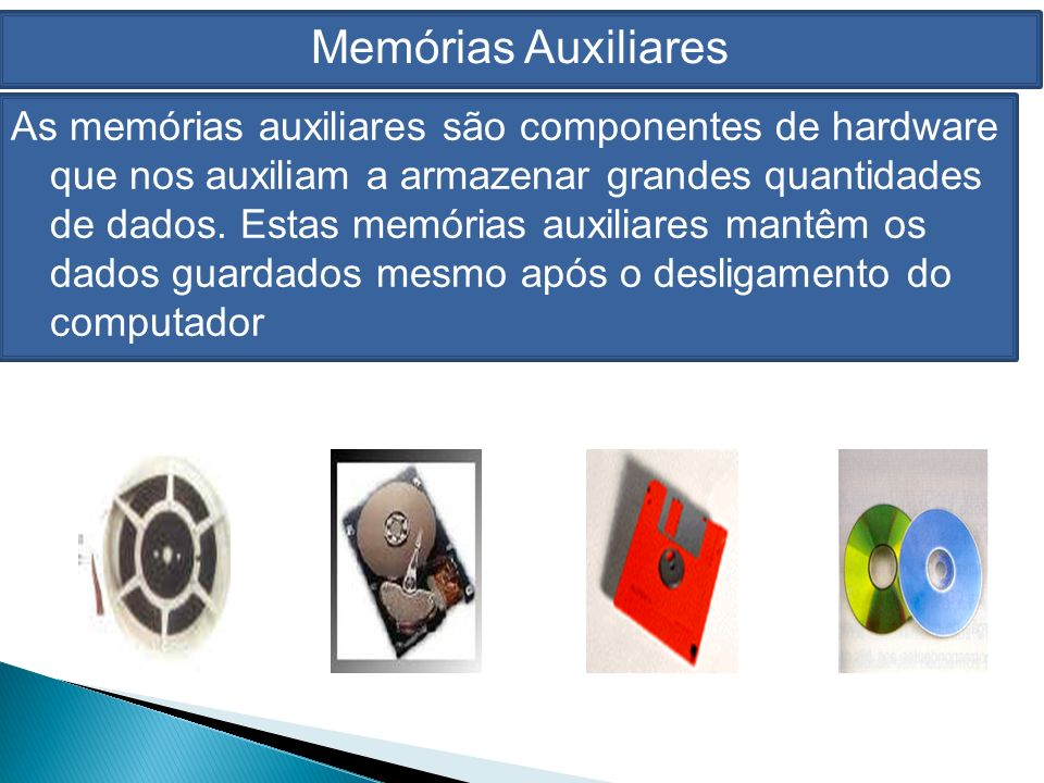 Memórias Auxiliares