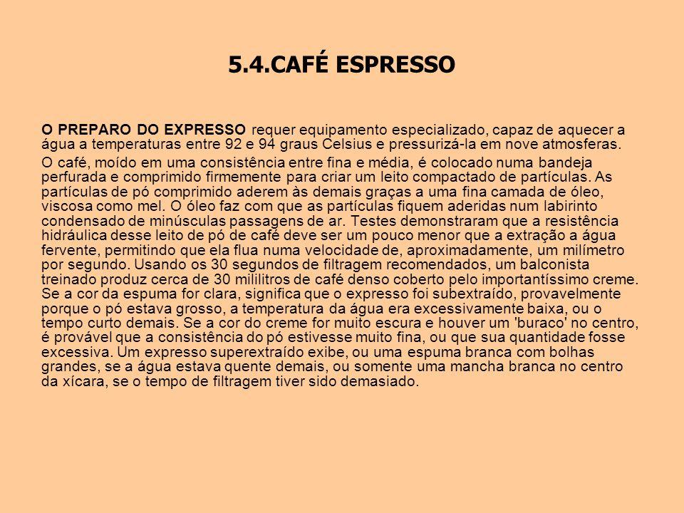 5.4.CAFÉ ESPRESSO