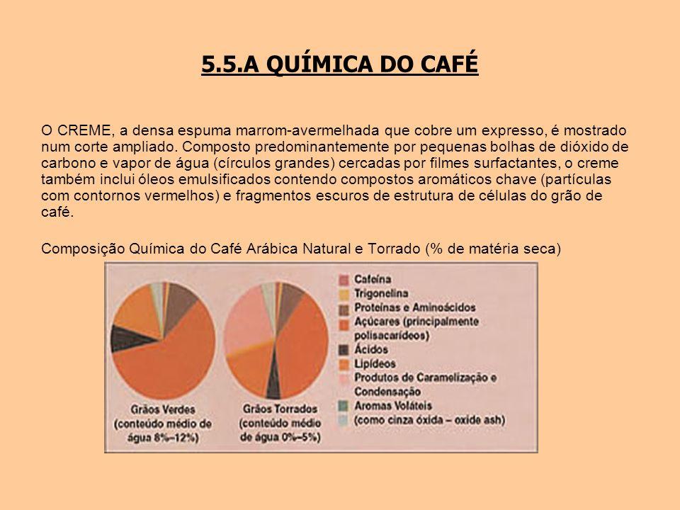 5.5.A QUÍMICA DO CAFÉ