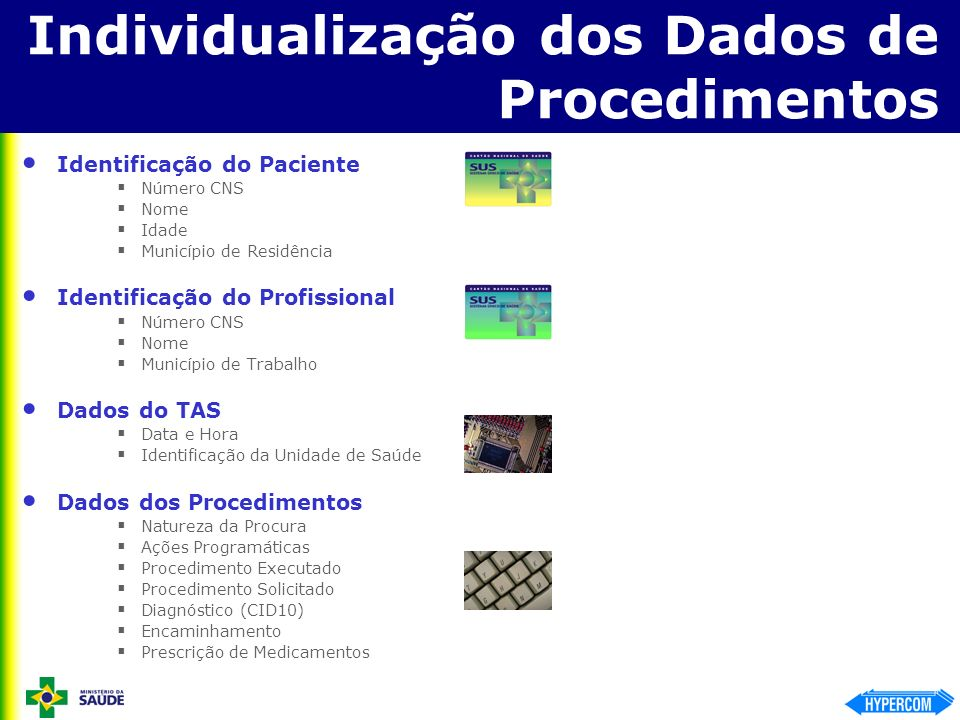 Individualização dos Dados de Procedimentos