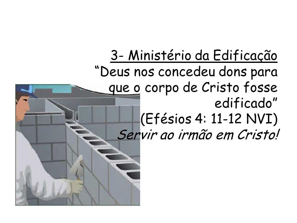 3- Ministério da Edificação