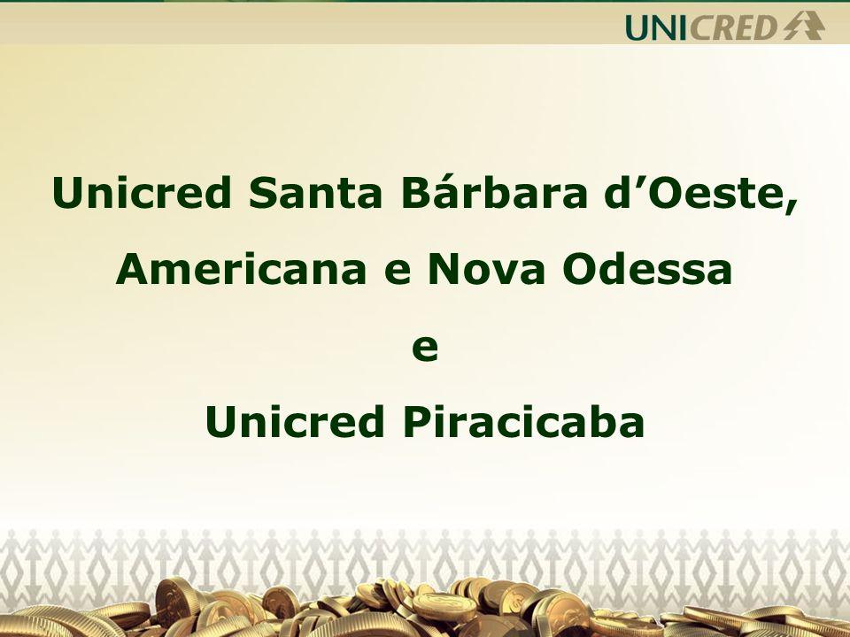 Unicred Santa Bárbara d'Oeste, Americana e Nova Odessa