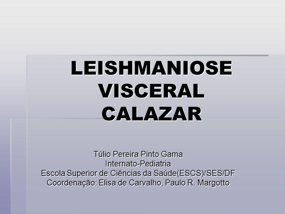 LEISHMANIOSE VISCERAL CALAZAR