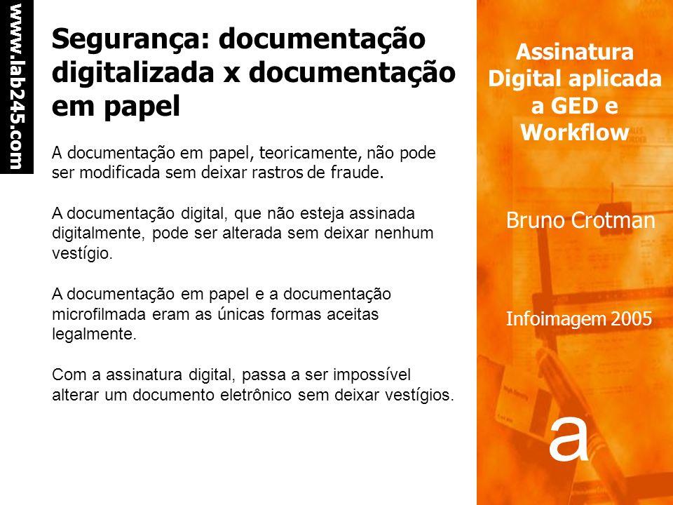 Segurança: documentação digitalizada x documentação em papel