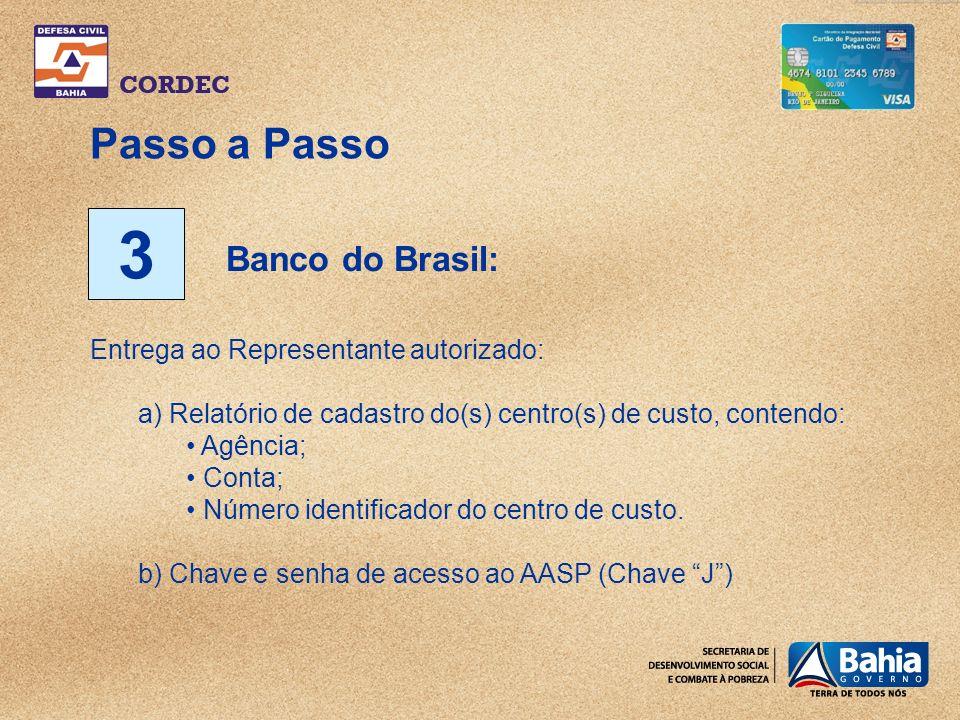 3 Passo a Passo Banco do Brasil: Entrega ao Representante autorizado: